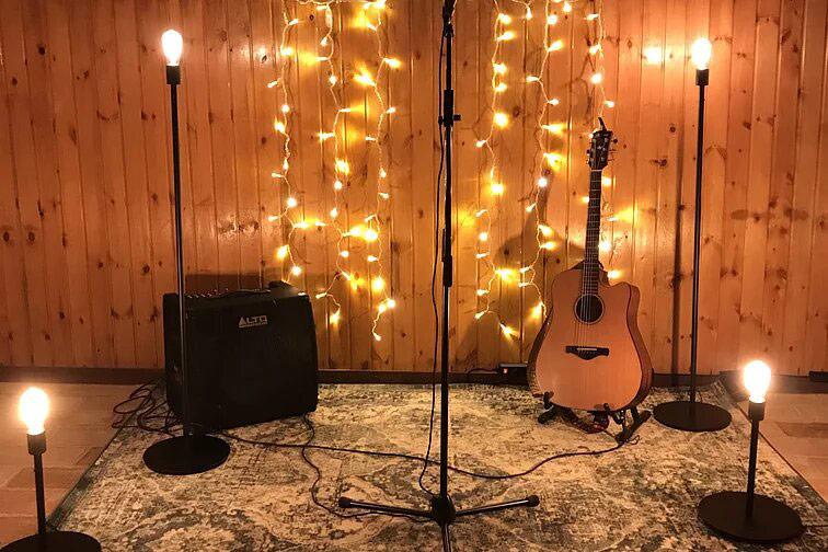 WeColorMusic escenario luces